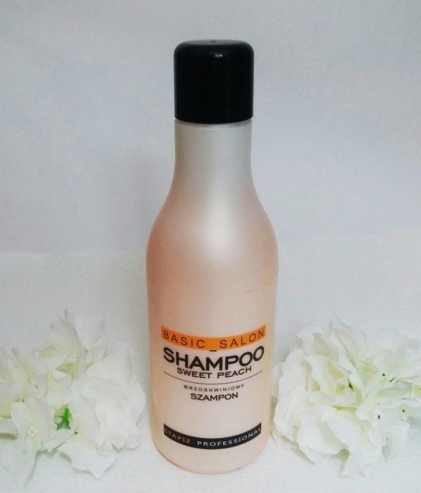Stapiz  Bzsic Salon Sweet Peach – szampon nawilżająco-ochronny dla kobiet