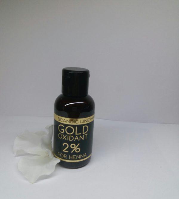 Scandic woda Gold Oxidant do henny 2% 50 ml