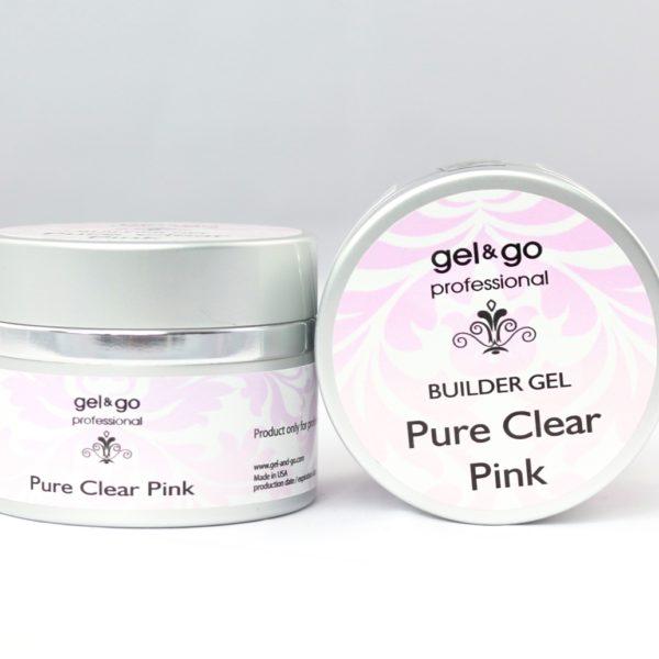 Gel&go professinal Pure Clear Pinc – żel budujący